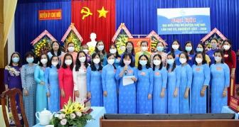 Bà Trần Thị Ngọc Hà tái cử Chủ tịch Hội Liên hiệp Phụ nữ huyện Chợ Mới nhiệm kỳ 2021-2026