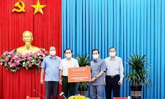 Bí thư Thành ủy TP. Hồ Chí Minh thăm và làm việc với lãnh đạo tỉnh An Giang