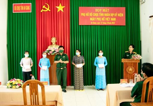 Bộ Chỉ huy Quân sự tỉnh An Giang họp mặt hội viên phụ nữ
