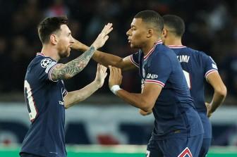 PSG tiếp tục thắng ở Cúp C1: Mbappe lại 'nâng' Messi rực sáng