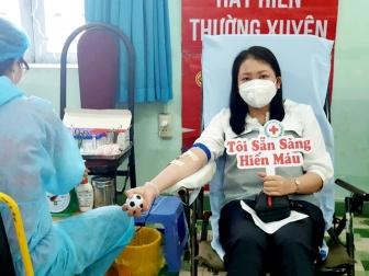 Hội Chữ thập đỏ tỉnh An Giang khuyến khích người dân tham gia hiến máu tình nguyện