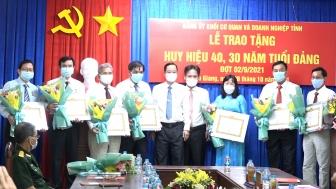 Củng cố nâng cao chất lượng hoạt động tổ chức Đảng và đảng viên Đảng bộ Khối Cơ quan và Doanh nghiệp An Giang