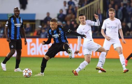 Manchester City đại thắng đương kim vô địch nước Bỉ