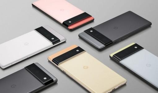 Google ra mắt điện thoại thông minh Pixel 6