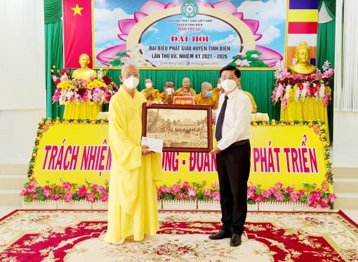 Đại hội đại biểu Phật giáo huyện Tịnh Biên nhiệm kỳ 2021-2026