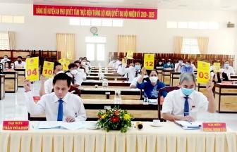 HĐND huyện An Phú tổ chức kỳ họp lần thứ 3