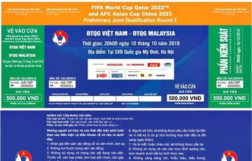 Cách thức mua vé xem đội tuyển Việt Nam ở vòng loại thứ ba World Cup