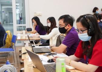 Gần 2.000 thí sinh dự thi thạc sĩ, tiến sĩ bằng hình thức trực tuyến