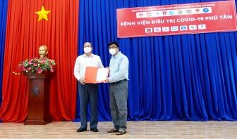 Vận hành Bệnh viện điều trị COVID-19 huyện Phú Tân