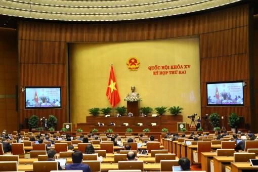 Ngày 24-10, Quốc hội tiếp tục thảo luận trực tuyến về công tác phòng chống tội phạm