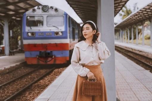 Ga Tháp Chàm - điểm check-in mới của giới trẻ Ninh Thuận