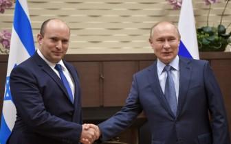 Kỳ vọng mối quan hệ lợi ích Nga - Israel