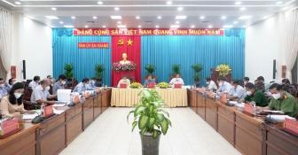 Ban Thường vụ Tỉnh ủy An Giang họp cho ý kiến một số nội dung quan trọng