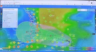 Khánh Hòa ngưng các hoạt động trên biển từ 18 giờ ngày 25-10