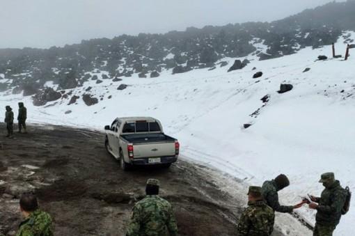 Lở tuyết làm 4 người thiệt mạng trên đỉnh núi lửa ở Ecuador