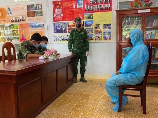 Đồn Biên phòng Cửa khẩu Quốc tế Tịnh Biên bắt giữ hơn 21kg nghi là cần sa