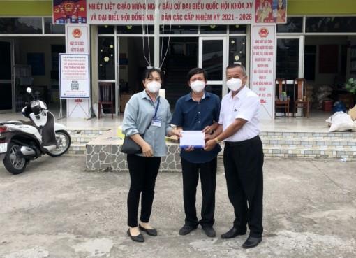 BIDV Chi nhánh An Giang hỗ trợ kinh phí hoạt động bếp ăn khu cách ly thị trấn Chợ Mới