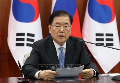 Hàn Quốc, Nga cam kết hợp tác chặt chẽ nhằm thúc đẩy hòa bình trên bán đảo Triều Tiên